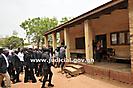 Chief Justice Tours Bimbilla Court in the Northern Region