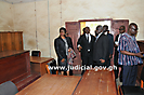 Chief Justice Tours Bimbilla Court in the Northern Region