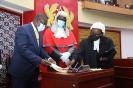CJ Swears-in Speaker of Parliament