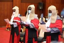 Six New Court of Appeal Judges Sworn-in
