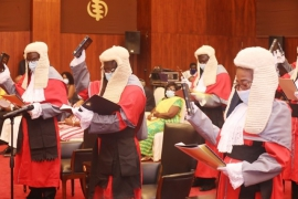 Sixteen New Justices of the High Court Sworn-In